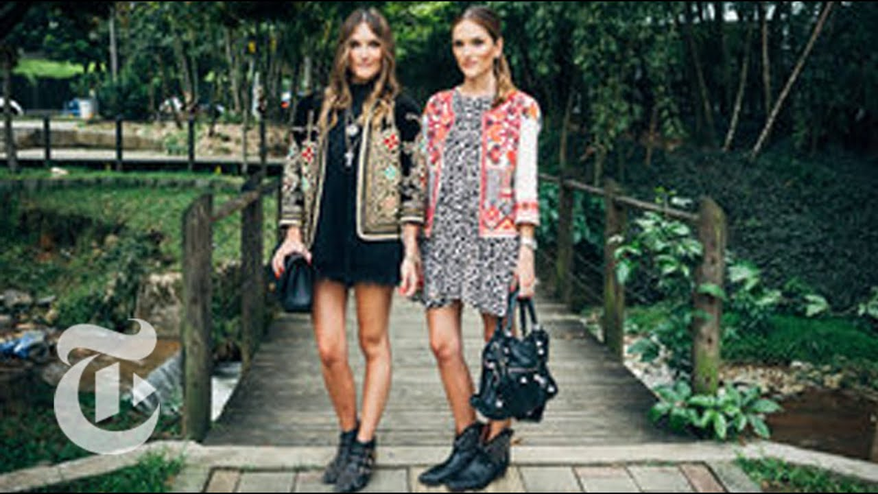 VELMA: Colombia dress style