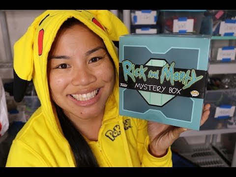 Rick & Morty Funko Mystery Box Unboxing - [Hot Topic Exclusive]