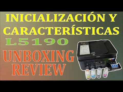 Impresora Epson L5190 | Inicialización | Unboxing | Review | Información | | Instalación | Español