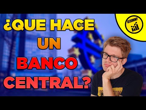 🧐🧐¿Que hace un Banco Central? Cómo funciona? Funcionamiento del Banco Central Europeo