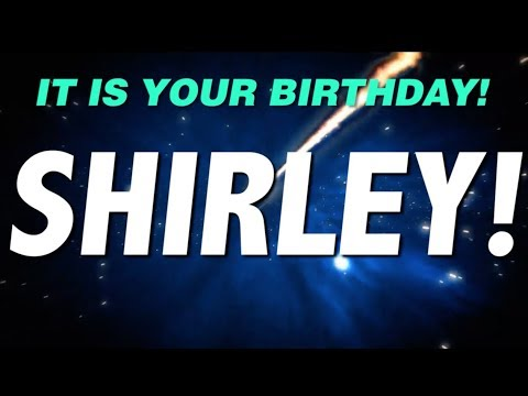 HAPPY BIRTHDAY SHIRLEY! This is your gift.