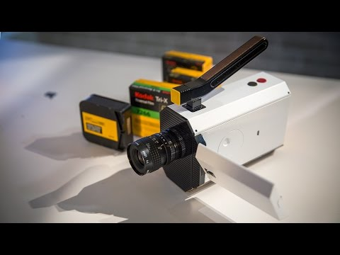 Kodak's New Super 8 Camera at CES 2016!
