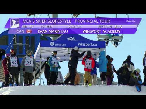 SKI SLOPESTYLE Provincial Tour on Shaw TV