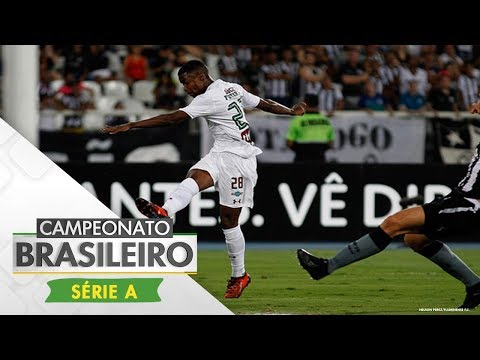 Melhores Momentos - Botafogo 1 x 2 Fluminense - Campeonato Brasileiro (04/11/2017)
