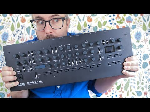 MINILOGUE XD MODULE — what's new? + how to set up polychain & wish list for future updates