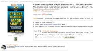 Options Trading Made Simple Book