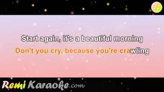 September - Satellites (karaoke - RemiKaraoke.com) screenshot 5