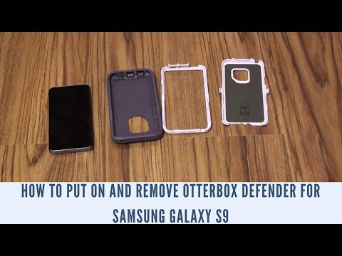 new style 8bc7c 5e9b2 How to Put On and Remove OtterBox Defender for Samsung Galaxy S9 ...