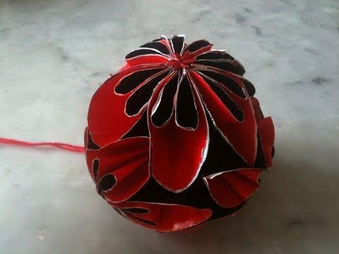 اشغال يدوية : طريقة صنع كرة ورود من الورق thumbnail