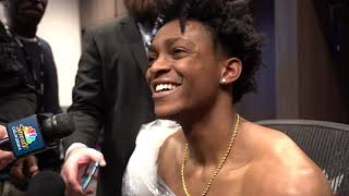 De'Aaron Fox Post Game Interview  - Lakers vs Kings | 2018-19 NBA Season