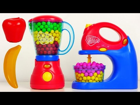 Kitchen Appliance Playset Mixer Blender Play Right Toys for