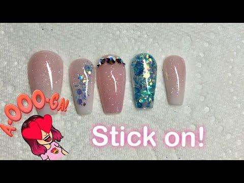 pre stick acrylic nails