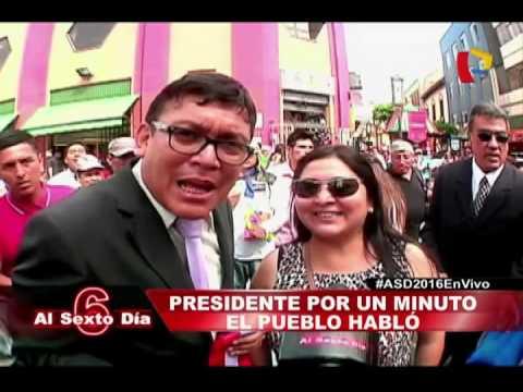 Presidente Por Un Minuto: Las Propuestas De Los Electores