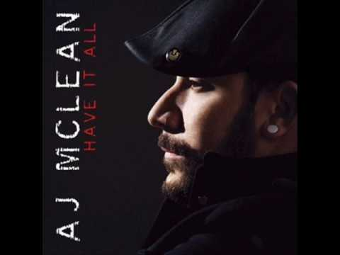 AJ McLean  London  03  With s