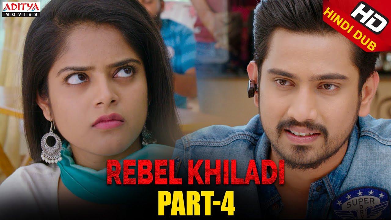 Rebel Khiladi Hindi Dubbed Movie Part 4  | Raj Tarun, Riddhi Kumar | Aditya movies