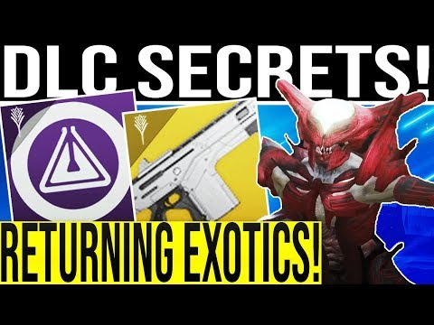Destiny 2. DLC SECRETS & D1 STATS RETURN! Best Imperial Farm, New Exotics, 3v3 Trials, RIFT & More!
