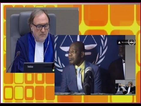 Le juge president sauve la défense de Gbagbo en posant des questions dures à Detho Letho