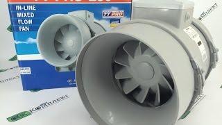 видео Канальный вентилятор для вытяжки 100 мм: обзор, виды, характеристики и отзывы