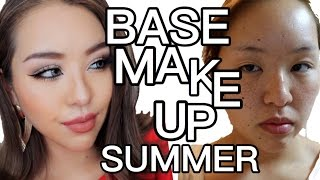 プチプラで崩れないベースメイク|CEZANNE.MAYBELLINE.VISEE.KATE | SUMMER MAKEUP | THE POWER OF MAKEUP