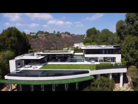 luxury villa in los angeles youtube. Black Bedroom Furniture Sets. Home Design Ideas