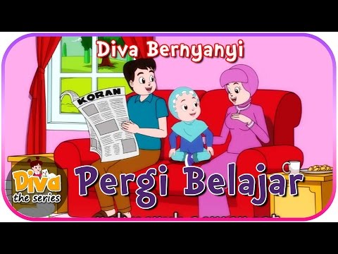 Pergi Belajar | Diva Bernyanyi | Diva The Series Official