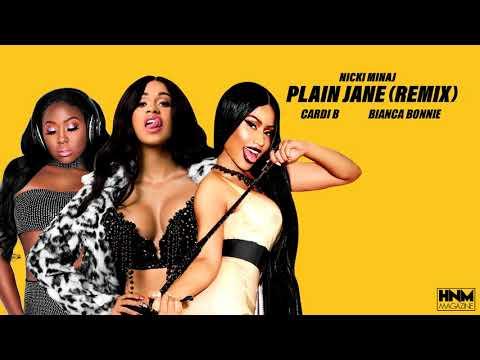 Nicki Minaj, Cardi B, Bianca Bonnie - Plain Jane [REMIX/MASHUP]