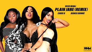 Nicki Minaj, Cardi B, Bianca Bonnie - Plain Jane [REMIX/MASHUP]