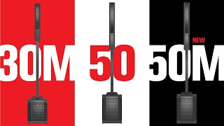 Meet the EVOLVE 50M: professional performance, column convenience