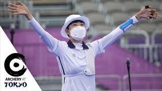 An San wins third gold of the Tokyo 2020 Olympics | #ArcheryatTokyo