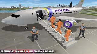Prisoner Transport Helicopter: Free Bus Games Android Gameplay
