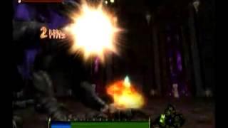 Dragon Blade: Wrath of Fire - Vormanax boss battle 09-25-07