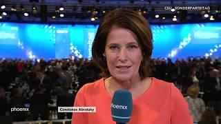CSU-Sonderparteitag: Interview mit Angelika Niebler (stellv. Parteivorsitzende) am 19.01.19