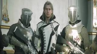Ravus And Lunafreya Kingsglaive Scene