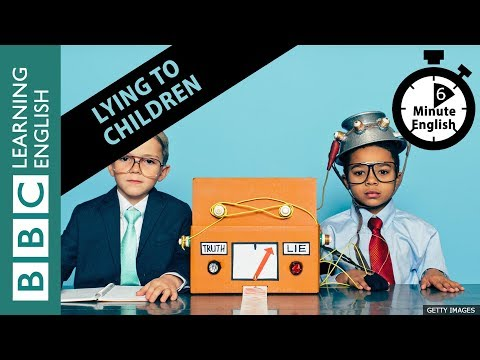 Talk about should you lie to children in 6 minutes