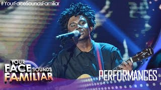 "Your Face Sounds Familiar: Michael Pangilinan as Tracy Chapman - ""Baby Can I Hold You"""