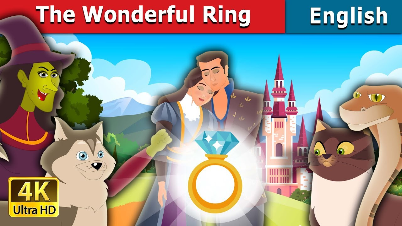 The Wonderful Ring Story in English   Bedtime Stories