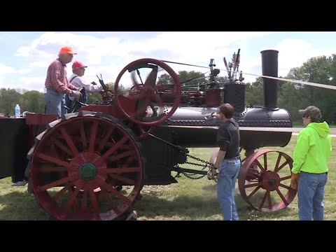 Steam And Gas Show Seminole Valley Farm - Antique Tractors And Equipment