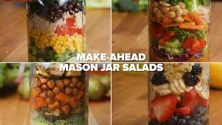 Make-Ahead Mason Jar Salads For The Week thumbnail