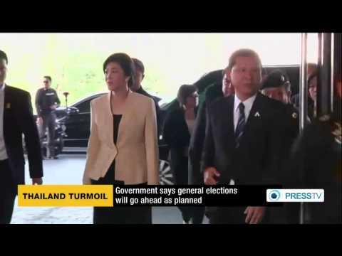 กำนันสุเทพ Thailand Protests General elections will go ahead as planned