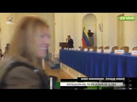Venezuela - TSJ se instaló desde la OEA en Whashington -VPI