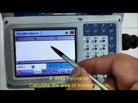 Cogo Programs, Kolida CTS-662, Professional Surveying Equipment Manufacturer