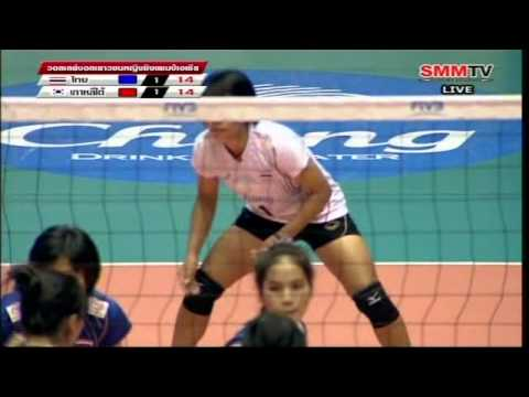 [Full Match] Thailand - South Korea [Volleyball Asian Jr. Women's 16th] 6-10-2012