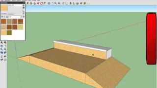 Funbox-skate (google Sketchup 8)