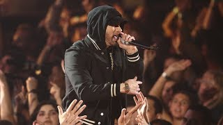 Gambar cover Eminem feat. Kehlani - Nowhere Fast [UltraHD] (iHeart Music Awards 2018) + Em X DJ Khaled Interview
