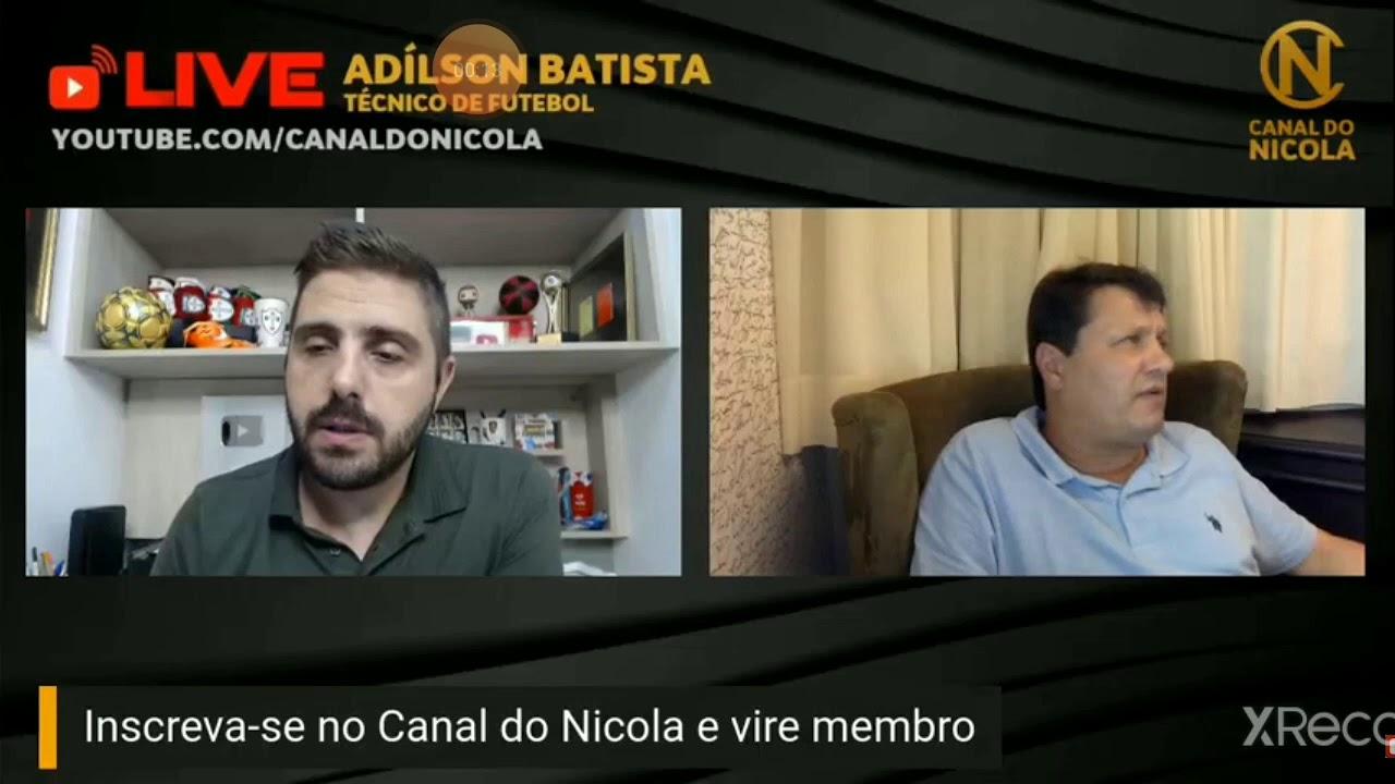 Adilson Batista X Samuel Venancio Youtube