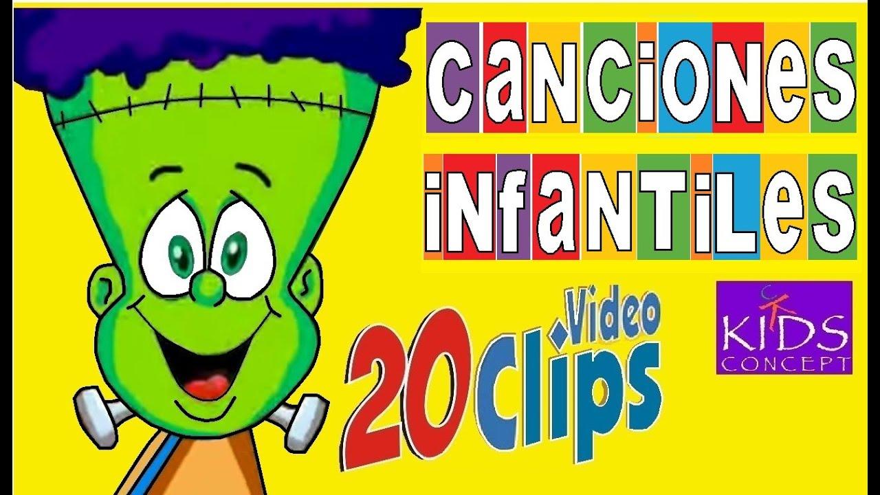 Canciones infantiles 20 videos animados youtube - Letras infantiles para puertas ...
