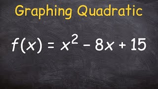 Learn how to graph a quadratic