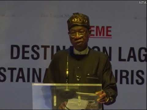 INFORMATION & CULTURE MINISTER AT LAGOS TOURISM SUMMIT NEW xmp
