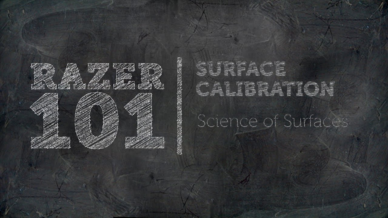 Use your Mouse on any Surface - Surface Calibration | Razer 101