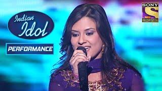 Torsha ने दिया 'Tare Hain Barati' पे Eloquent Performance | Indian Idol Season 4